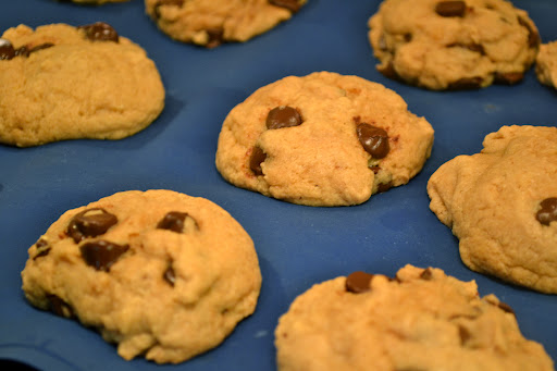 Peanut Butter Banana Chocolate Chip Cookies The Year Of