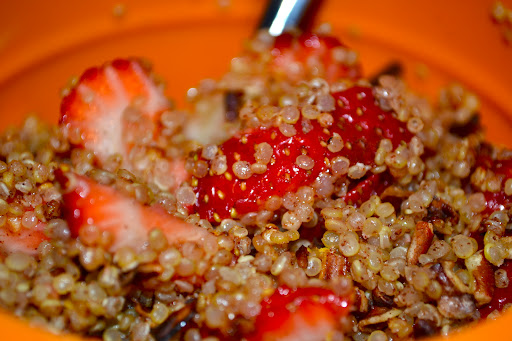 Warm and Nutty Cinnamon Quinoa - The Year of Living Audaciously