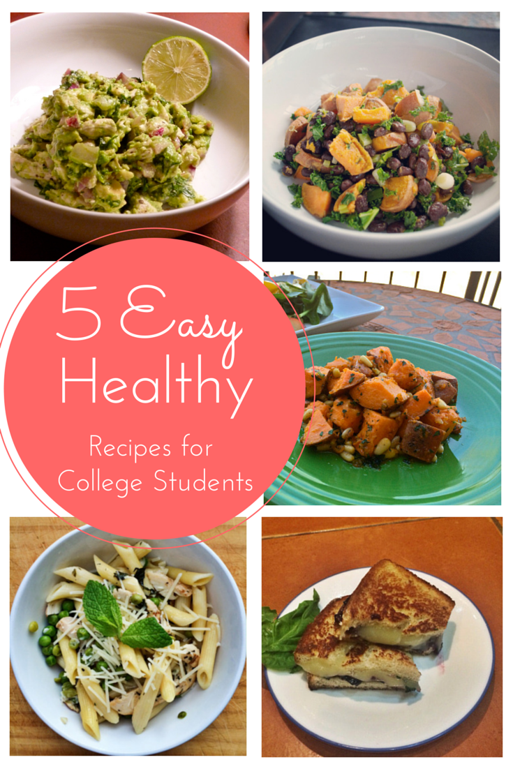 5 Easy, Healthy Recipes For Busy College Students